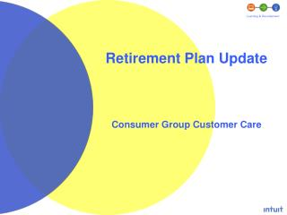 Retirement Plan Update