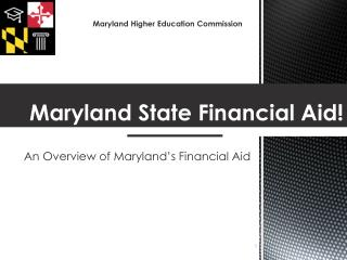 Maryland State Financial Aid!