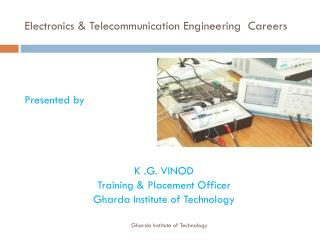 Electronics & Telecommunication Engineering  Careers