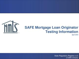 NMLS Testing & Education