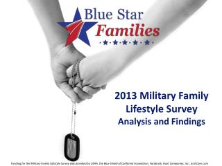 2013 Military Family  Lifestyle Survey  Analysis and Findings