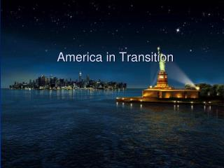 America in Transition