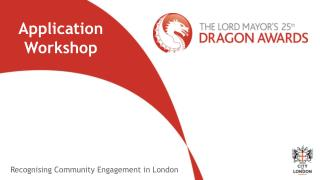 Recognising Community Engagement in London