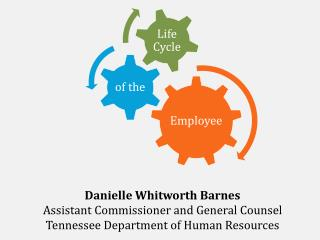 Danielle Whitworth Barnes Assistant Commissioner and General Counsel Tennessee Department of Human Resources