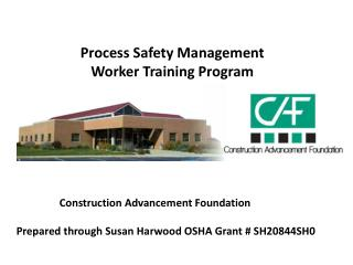 Process Safety Management Worker Training Program