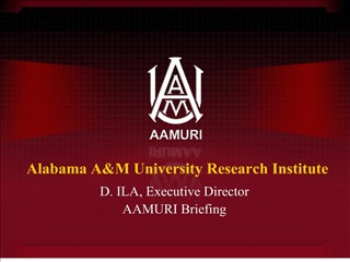 alabama am university research institute