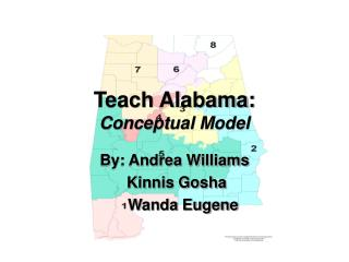 teach alabama: conceptual model
