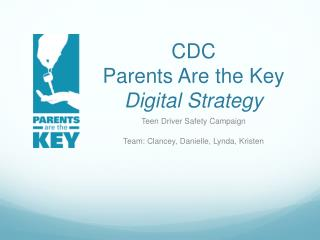 CDC  Parents Are the Key Digital Strategy