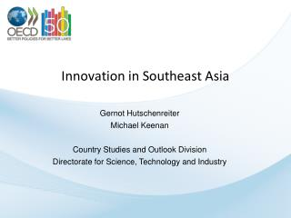 Innovation in Southeast Asia