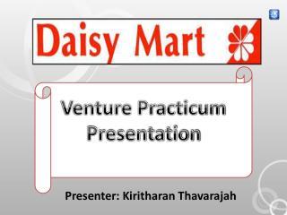 Presenter: Kiritharan Thavarajah