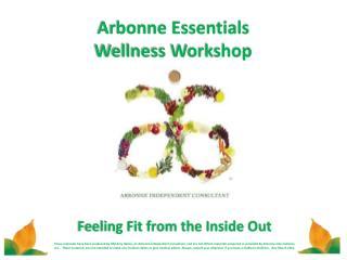 Arbonne Essentials Wellness Workshop