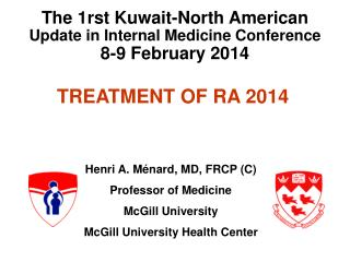 TREATMENT OF RA 2014