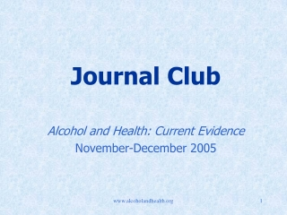 hospital management of the alcohol withdrawal syndrome