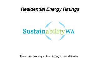 6 star energy rating specialist
