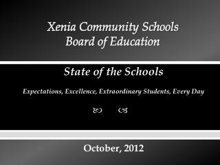 Xenia Community Schools Board of Education