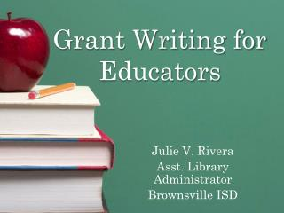 Grant Writing for Educators