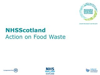 NHSScotland Action on Food Waste