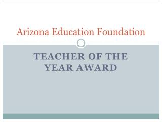 Arizona Education Foundation