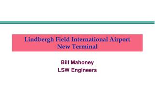 lindbergh field international airport new terminal