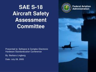 SAE S-18 Aircraft Safety Assessment Committee