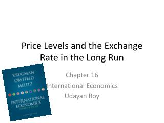 Price Levels and the Exchange Rate in the Long Run
