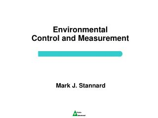 Environmental  Control and Measurement