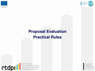 Proposal Evaluation Practical Rules