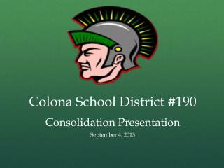 Colona School District #190