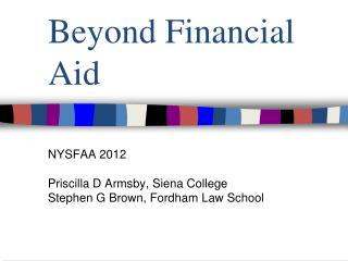 Beyond Financial Aid