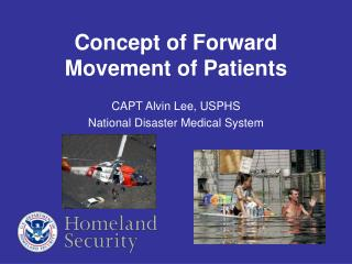 Concept of Forward Movement of Patients
