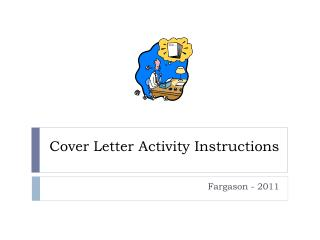 Cover Letter Activity Instructions