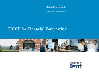 EDDIE for Financial Forecasting