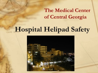 hospital helipad safety