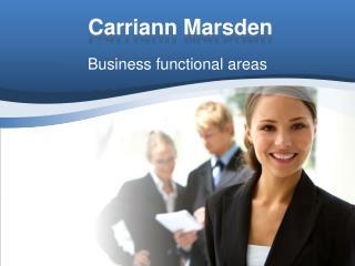 Carriann Marsden