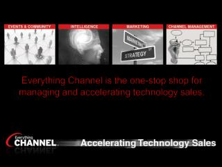 Everything Channel is the one-stop shop for managing and accelerating technology sales.