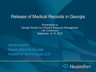 Release of Medical Records in Georgia