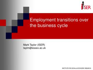 Employment transitions over the business cycle