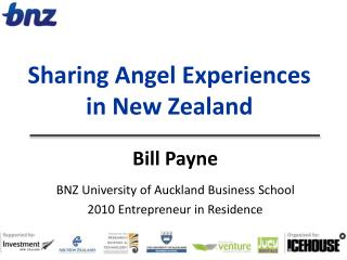 Sharing Angel Experiences  in New Zealand
