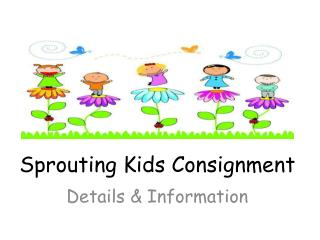 Sprouting Kids Consignment