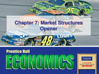 Chapter 7: Market Structures Opener