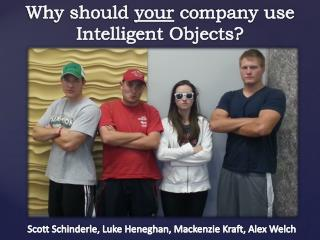 Why should  your  company use Intelligent Objects?