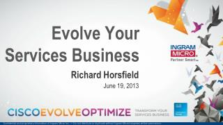 Evolve Your Services Business