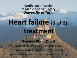 Heart  failure (3  of  3):  treatment