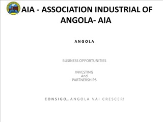 aia - association industrial of angola- aia