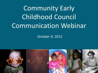 Community Early Childhood Council Communication Webinar