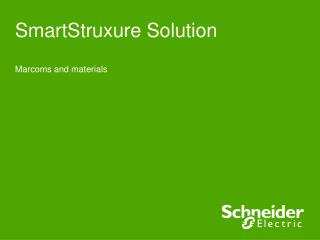 SmartStruxure  Solution