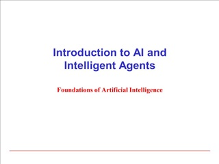 introduction to ai and intelligent agents