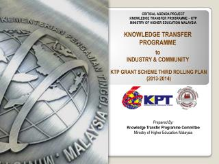 KNOWLEDGE TRANSFER PROGRAMME