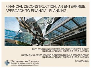 Financial Deconstruction:  An Enterprise Approach to Financial Planning