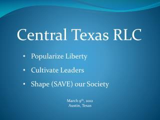Central Texas RLC